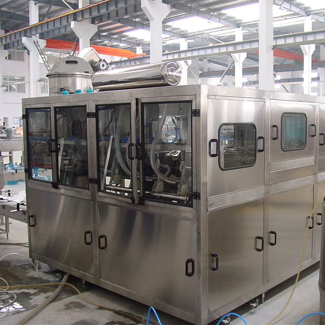 18.9L - 20L Automatic Gallon Water Bottling Filling Machine With High Speed