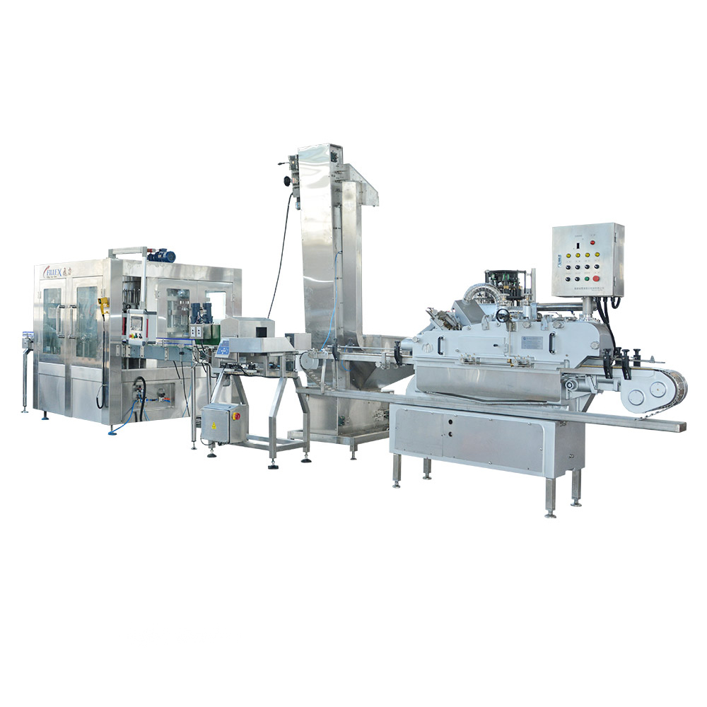 Fully Automatic Viscous Fluid Filling Machine