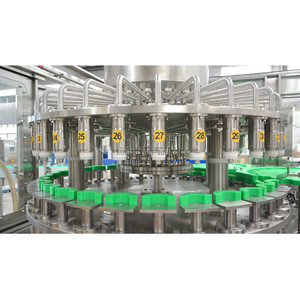 Full Automatic Juice Filling Production Line with High Level Tank