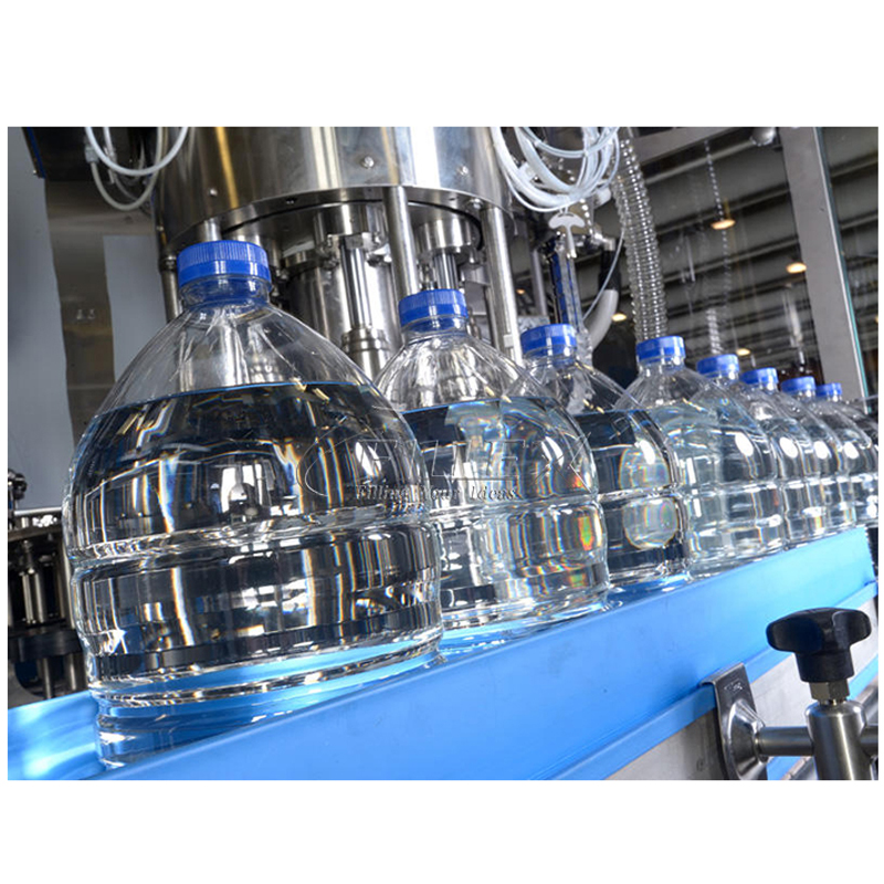 5L 1200BPH Drink Water Rinsing Filling Capping Equipment