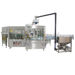 Automatic sparkling wine rinser filler capper