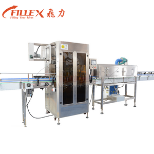 6000bph Automatic Plastic Bottle Neck Shrink Sleeve Insert Labeling Machine