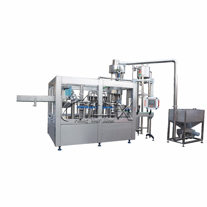 Automatic 3 in 1 Monobloc Hot Filling Production Equipment