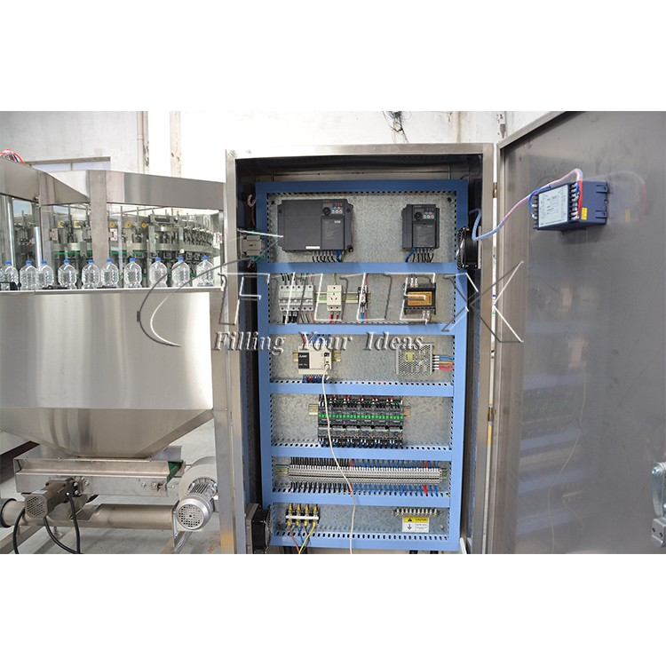 Automatic Soda Carbonated Soft Drink Filling Machine