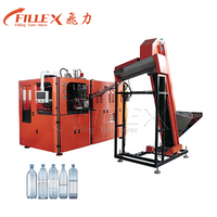 0.2-2.5L 6000BPH 6 Cavity Water Bottle Stretch Blow Moulding Machine