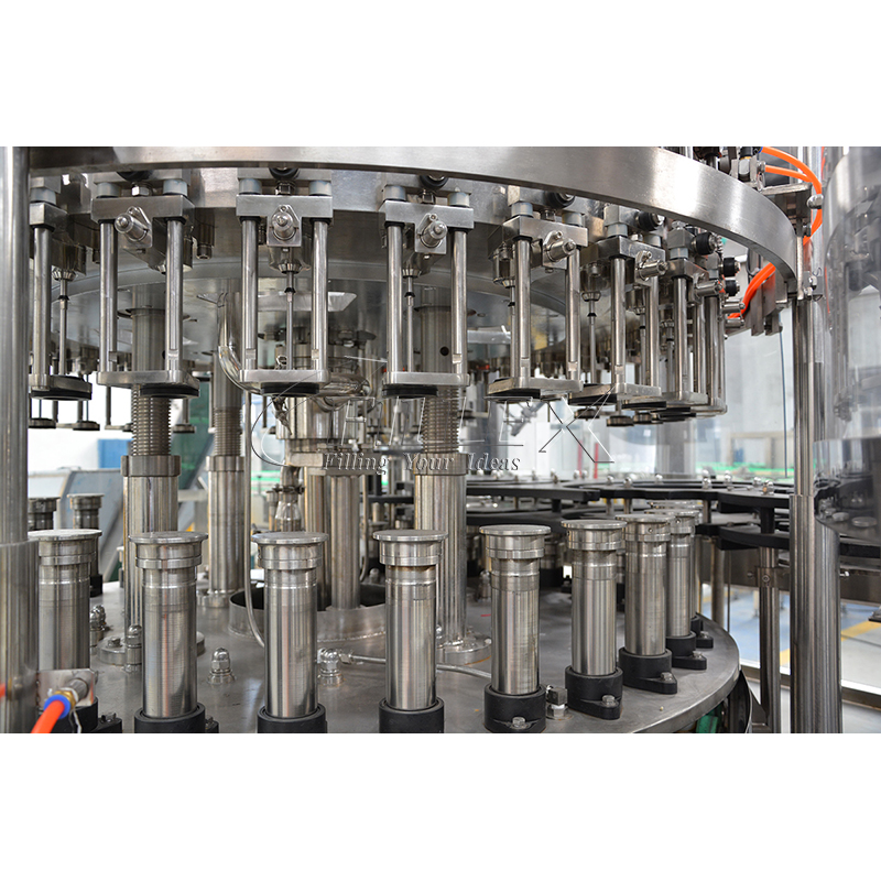 Full Automatic Glass Bottle Carbonated Soft Drink Filling Machine