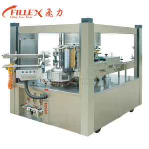 12000bph 10heads Automatic Rotary Type Cold Glue Labeling Machine